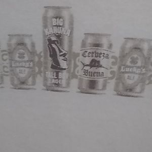 George Cream Colored Beer T-shirt XL NWOT